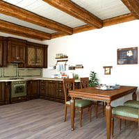 traditional kitchen model