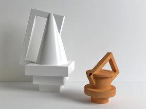 3D model sécante