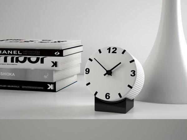 3D model tid clock