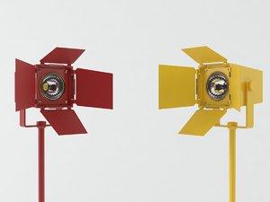 foto golvarmaturer 3D