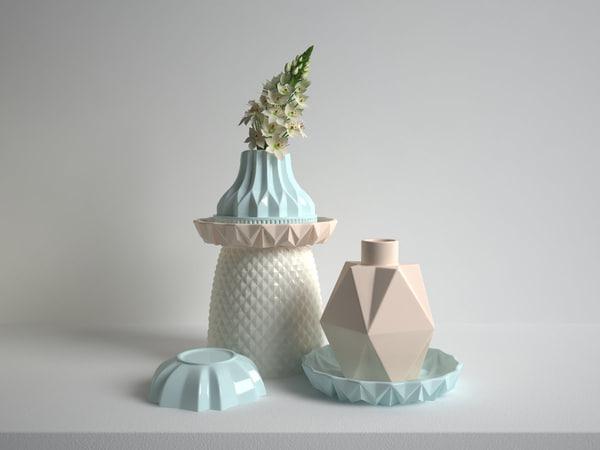 set vases model
