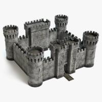 castle pbr 3D