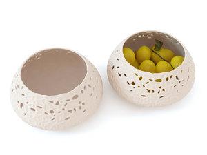lace bowl 3D model