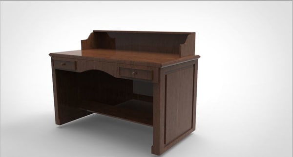 table study 3D model