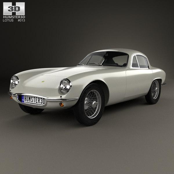 3D model elite 1957