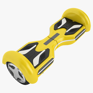 gyroscooter 3D model