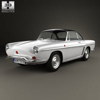 3D renault 1962