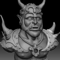 3D orc