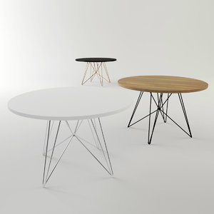 xz3 table magis 3D