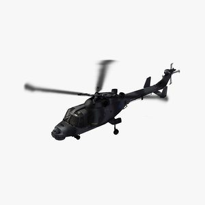 3D aw159 wildcat royal navy