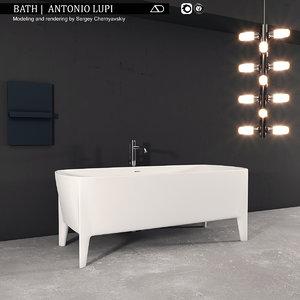 3D bath antonio lupi model