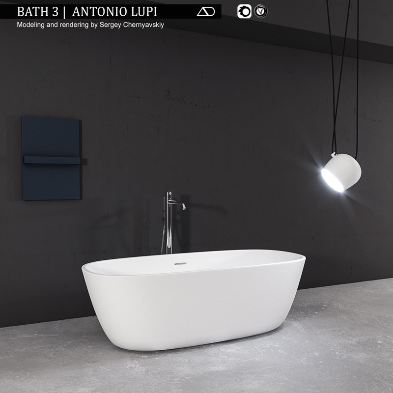 bath antonio lupi 3D model