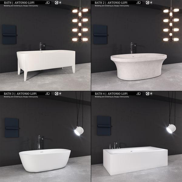bath antonio lupi model