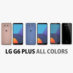 3D lg g6 colors