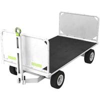 baggage cart 1 3D model
