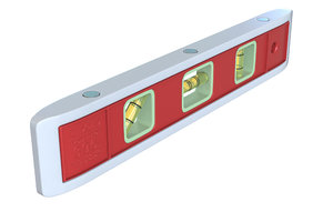 3D ridgid magnetic torpedo level model