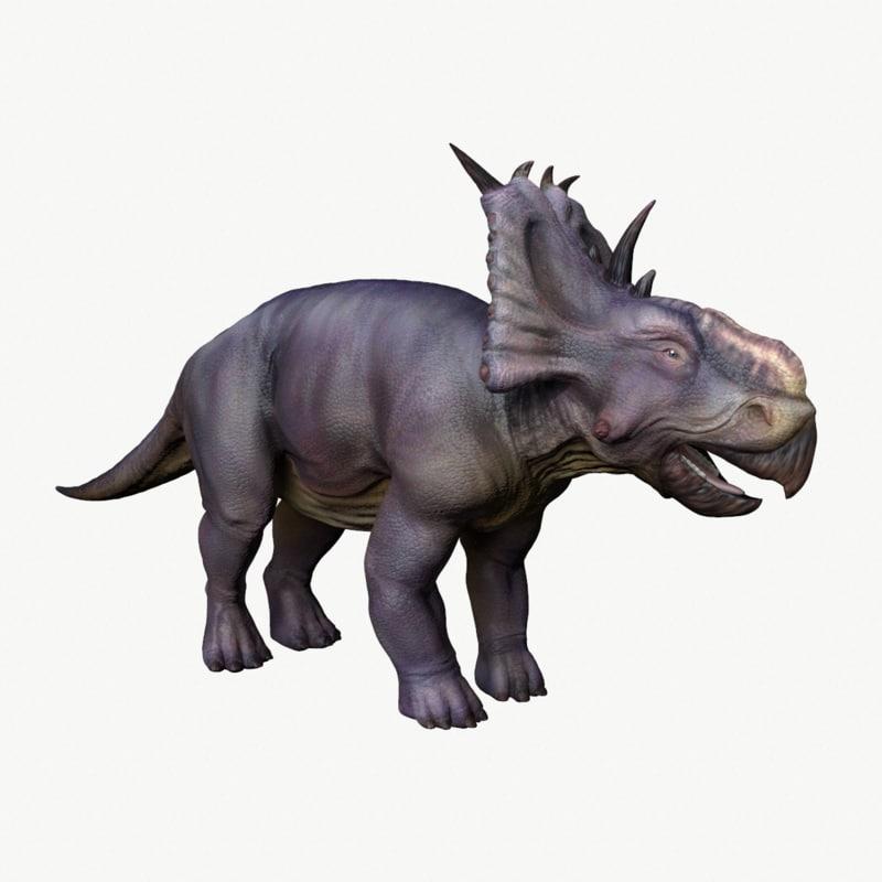 pachyrhinosaurus 3D