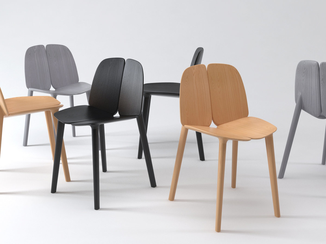3D model osso chair