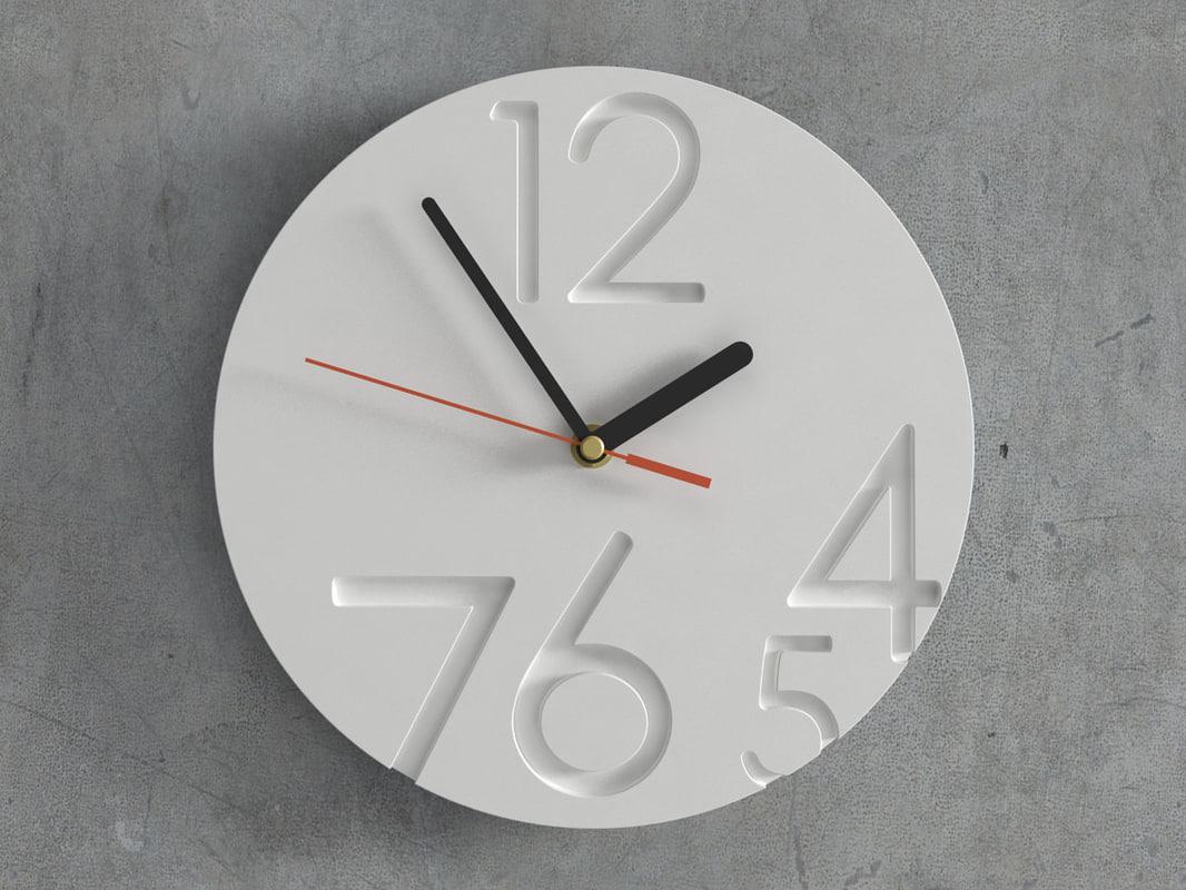 3D 12 0 clock