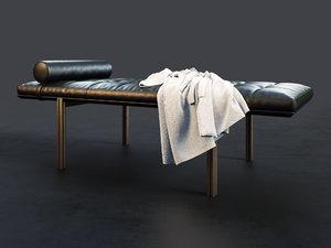 twelve-day bed 3D model