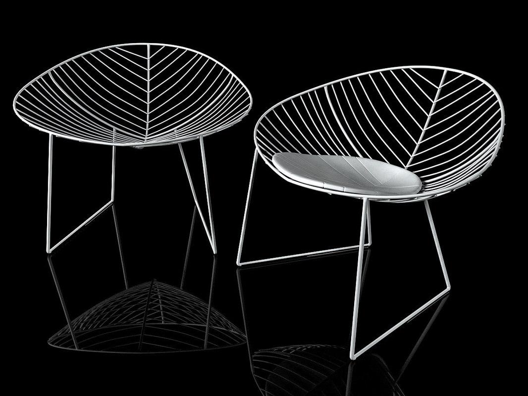 3D model leaf lounge 1803