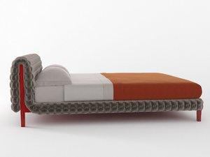 ruché bed 3D model