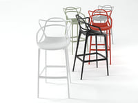3D masters stool model