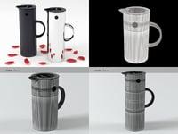 3D em77 vacuum jug model