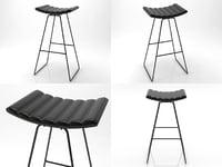 a3 stool 3D model