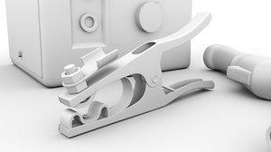 welding machine 3D model