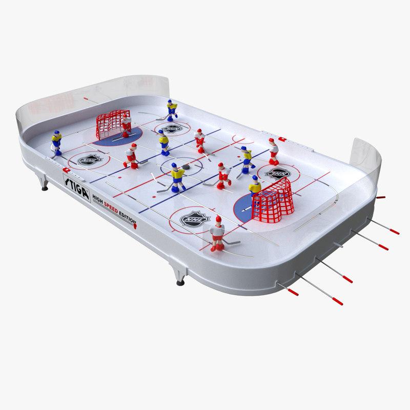 table hockey model