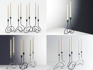 3D loop candelabra model