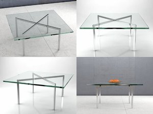 3D barcelona table