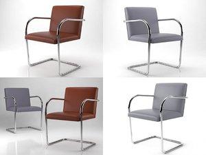 brno tubular chair model