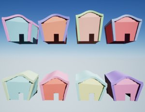 houses porches neighborhood model