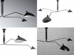 3D model arm lamp