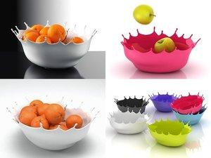 dropp! bowl 3D model