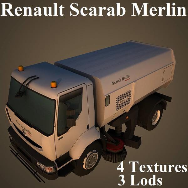 renault scarab merlin 3D