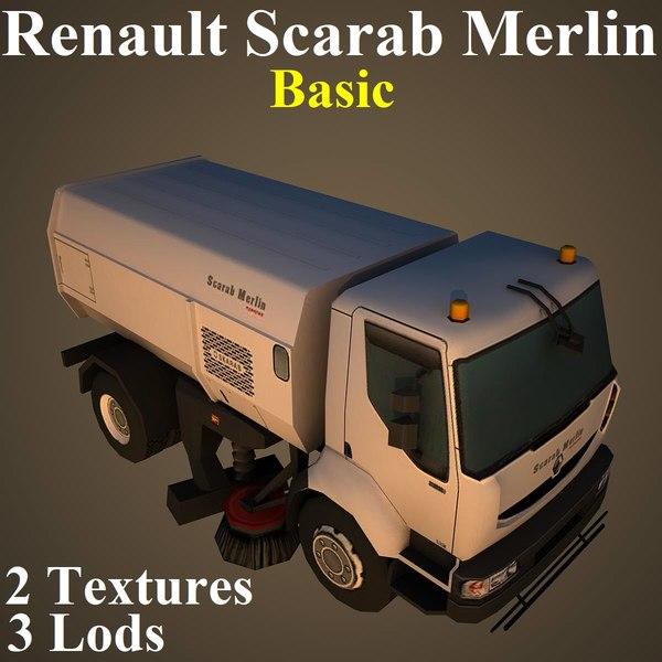 3D renault basic