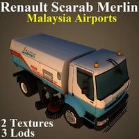 renault mas 3D model