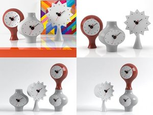 3D ceramic clocks model