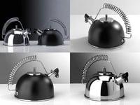 3D model whistling kettle