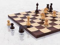 wobble chess set model