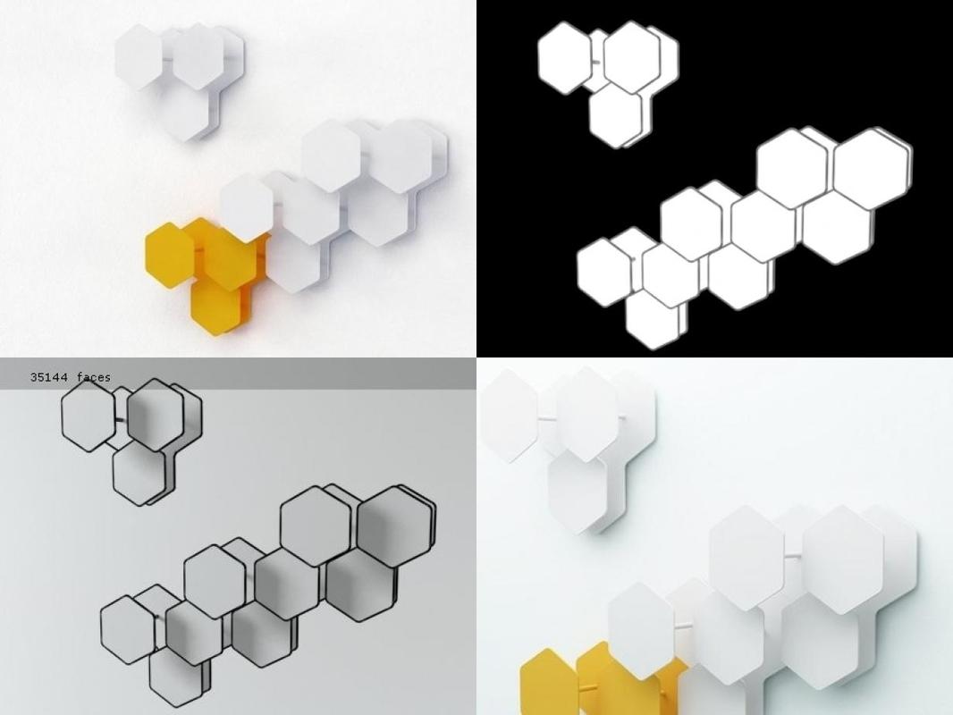 3D leaf miniforms