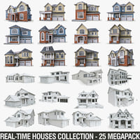Private Houses Collection - 25 Megapack