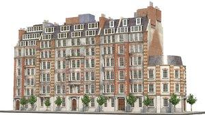 london street 3D model
