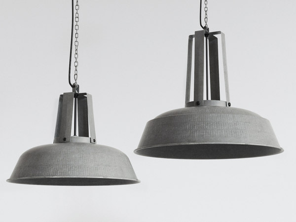 3D model workshop lamp