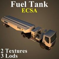 fuel tank eca 3D model