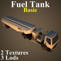 3D fuel tank basic