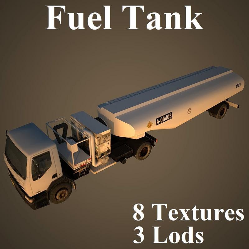 3D fuel tank model